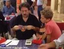 Ennio Nardullo con il suo più grande fan, Francesco Nardullo