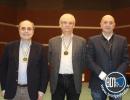 Open, 1°: Amedeo Comella e Stefano Sabbatini con il Vice Presidente FIGB Giuseppe Failla