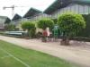 L'esterno della sede di gara