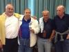 Serie A, girone B, 2°: SACCARO (Giancarlo Cantagalli, Renzo Mieti, Angelo Saccaro, Oriano Zannoni)