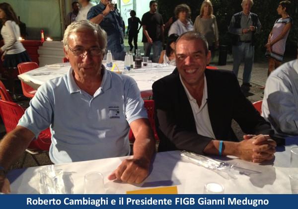 Roberto Cambiaghi e Giovanni Medugno