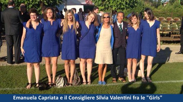 Emanuela Capriata e ragazze Under 26