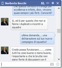 Norberto Bocchi Facebook