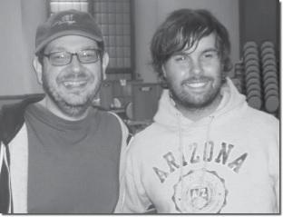Steve Weinstein e Agustin Madala