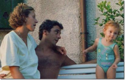 Giulia Scriattoli, Francesco Scriattoli e Daniela Salvemini