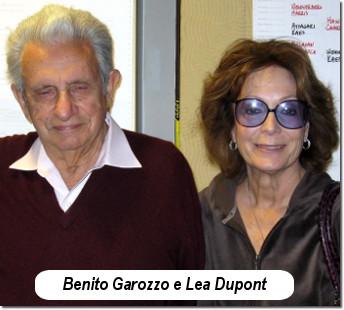 Benito Garozzo e Lea Dupont