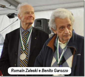 Romain Zaleski e Benito Garozzo