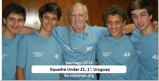 South American Transnational Bridge Festival winners