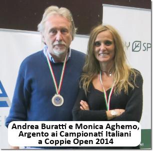 Andrea Buratti e Monica Aghemo