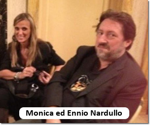 Monica Aghemo ed Ennio Nardullo