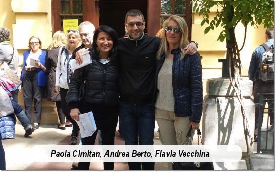 Andrea Berto Flavia Vecchina Paola Cimitan
