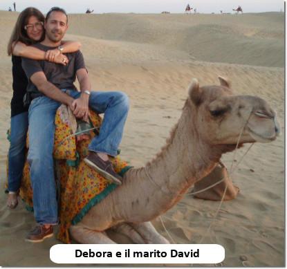 Debora Campagnano e David Domenech
