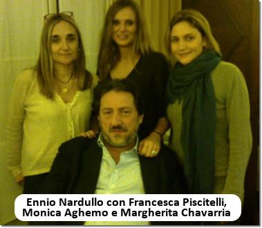 Ennio Nardullo, Monica Aghemo, Francesca Piscitelli, Margherita Chavarria