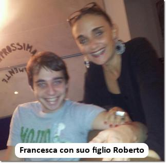 Francesca Piscitelli con Roberto
