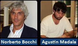 Norberto Bocchi e Agustin Madala