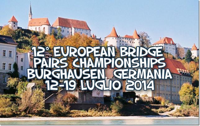 European Youth Pairs Championships 2014 - Burghausen