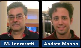 Massimo Lanzarotti e Andrea Manno