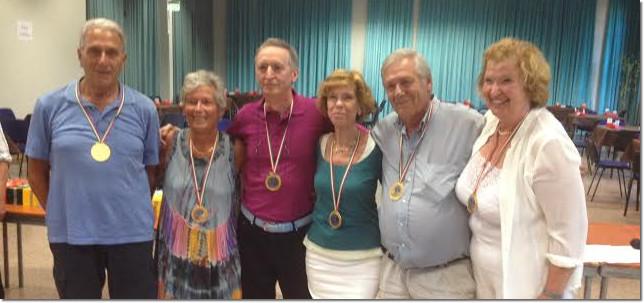 Festival Over 60 - Vincitori Squadre Miste