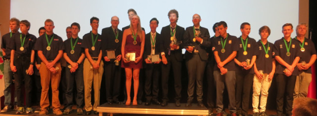 World Youth Teams Championships 2014 Winners