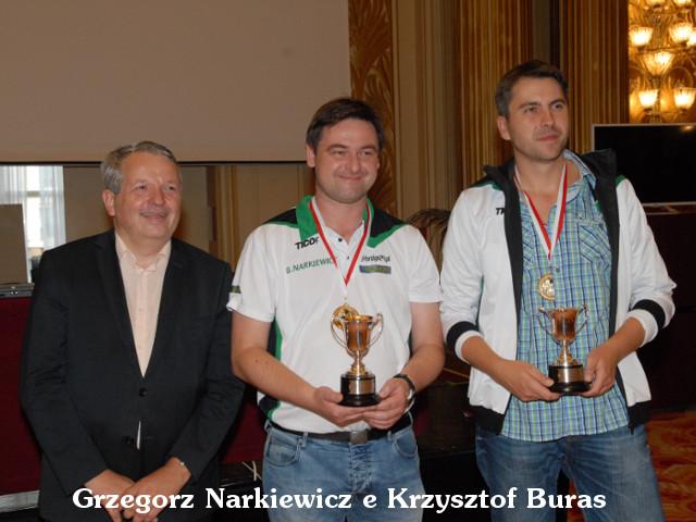 Grzegorz Narkiewicz Krzysztof Buras Cavendish 2014