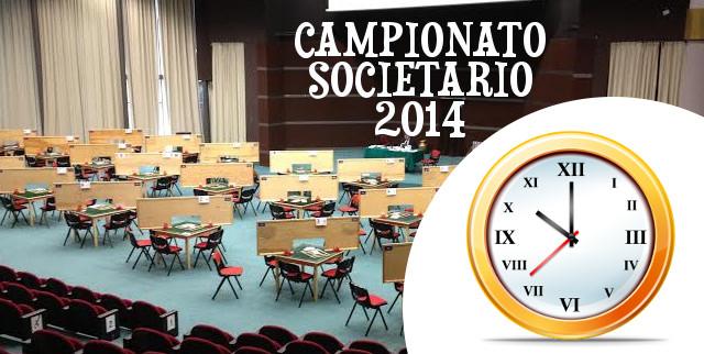 Orari Campionato Societario 2014