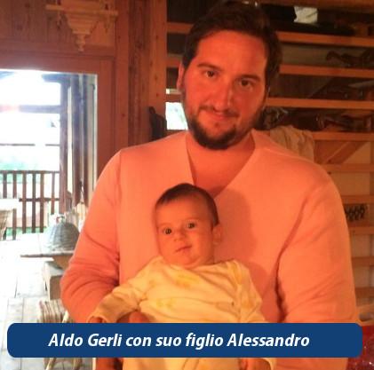Aldo Gerli con Alessandro Gerli