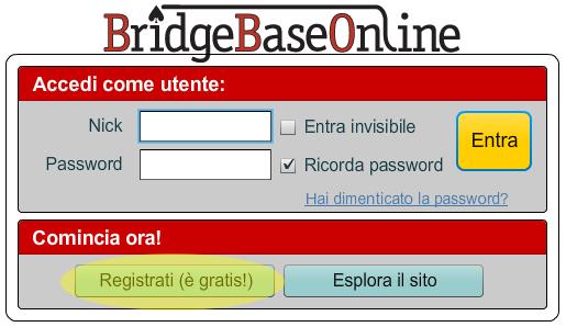 BBO_registrazione