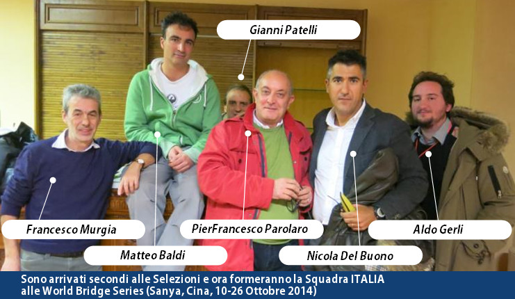 Italia World Bridge Series 2014