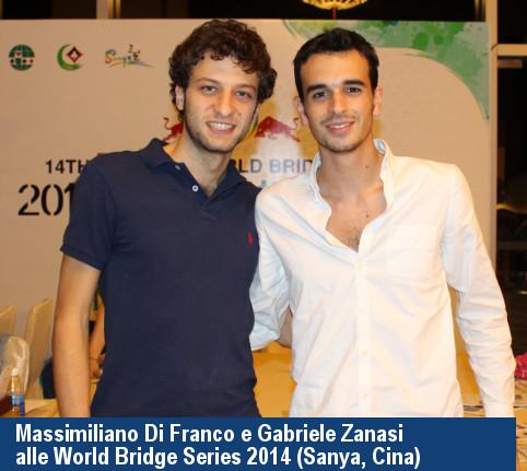 Massimiliano Di Franco e Gabriele Zanasi