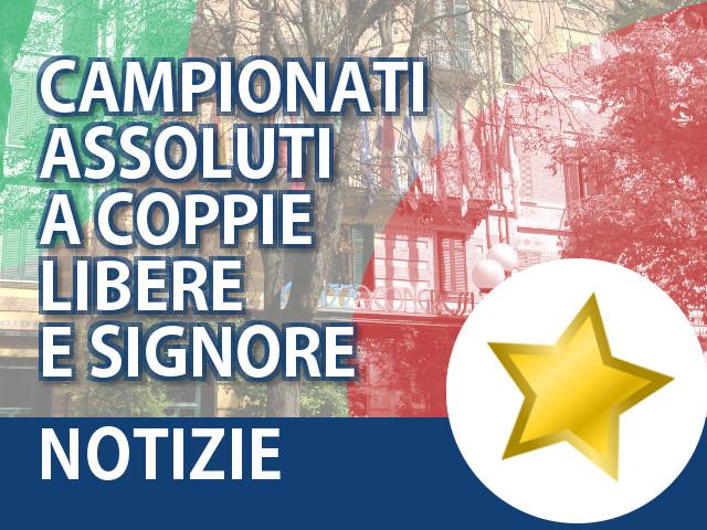 Campionati Assoluti a Coppie 2015
