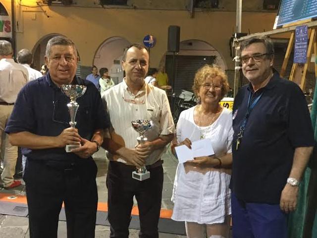 Renato Allegra e Carmelo Pennestri - Trofeo Città di Chiavari 2015