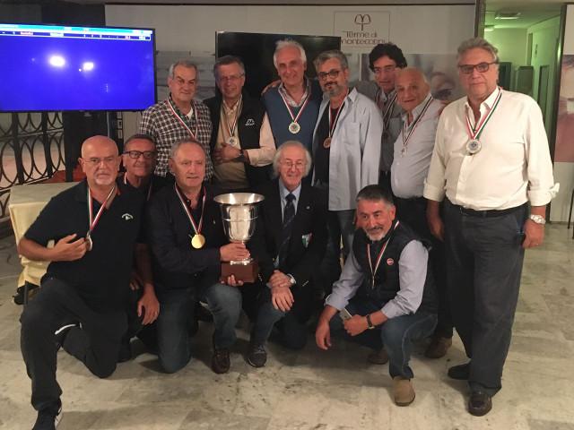 La squadra Caldarelli e la squadra Santolini