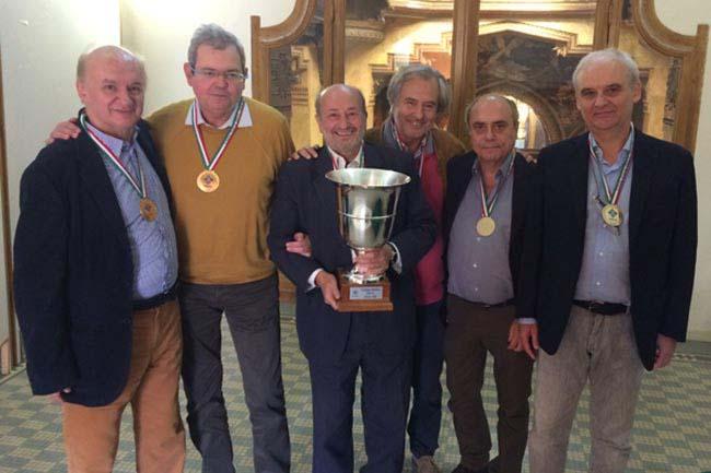 Coppa Italia Over 6' 2015 - Vincitori