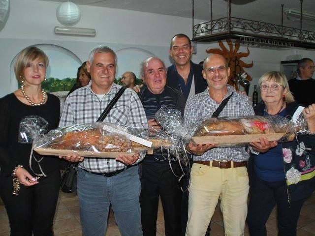 I vincitori Vincenzo Saba ed Enrico Masala