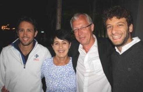 Andrea Manno, Connie Goldberg, Kauko Koistinen e MassimilianO Di Franco