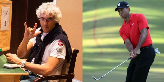 Meglio giocare al tavolo contro Norberto Bocchi o guardare Tiger Woods in TV?
